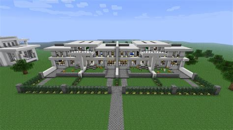 neighborhood house modern neighborhood house five download minecraft project