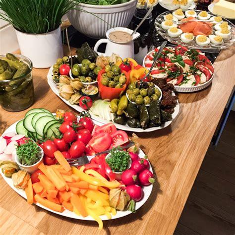 brunch zuhause partybuffet inspiration abendbrot f 252 r die