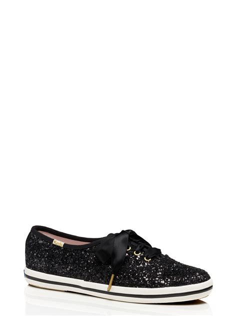 sparkle sneakers kate spade keds for glitter sneakers in black black multi