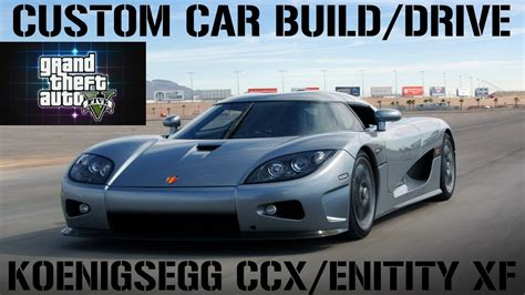 koenigsegg xf gta 5 custom car build drive 18 koenigsegg ccx entity