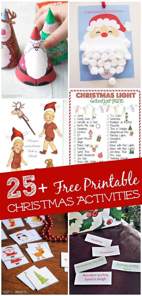 christmas activities for kids 25 free printable and activities edventures with