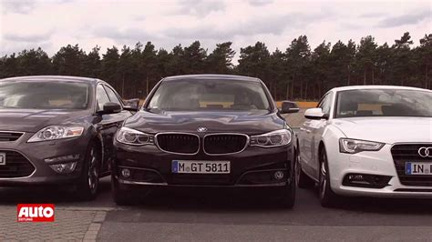 Bmw 3er Gt Youtube by Vergleich Bmw 3er Gt Vs Audi A5 Sportback Vs Ford