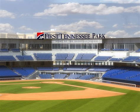 park country club the first tennessee nashville sounds new ballpark named quot first tennessee park