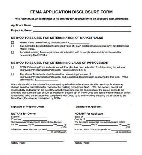 fema application form fema application form 8 free documents in pdf