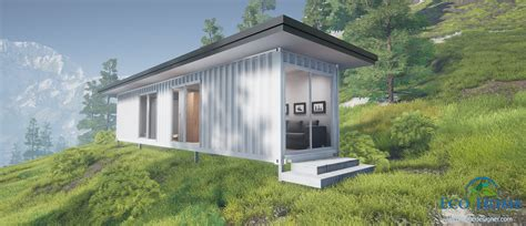 House Plan Additions by Sch1 Single 40ft Container Cabin Plans Eco Home Designer