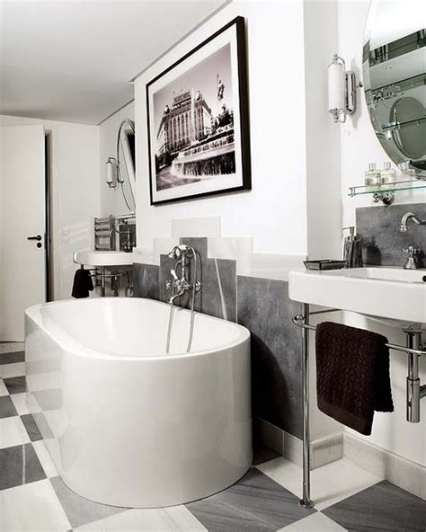 Bathroom Art Ideas by 15 Art Deco Bathroom Designs To Inspire Your Relaxing