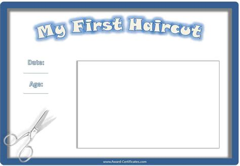 My Haircut Certificate Template by Haircut Quotes Quotesgram
