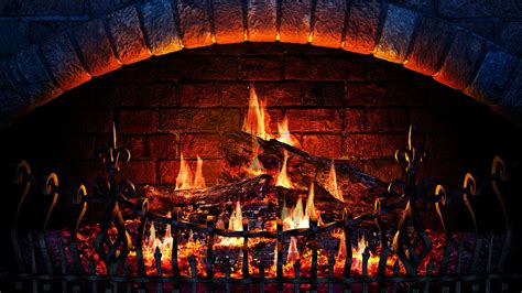 wallpaper for fireplace wall fireplace 3d screensaver live wallpaper hd youtube