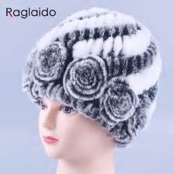 Handmade Beanies - winter fur hat rabbit fur warm fashion beanie