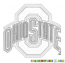 painted by - Ohio State Coloring Pages