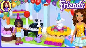 lego friends birthday party build review play kids toys