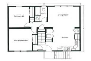 Bed Floor Plan by Bedroom House Floor Plan Kyprisnews