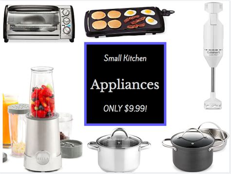 macy kitchen appliances macy s hot small kitchen appliances only 9 99 after