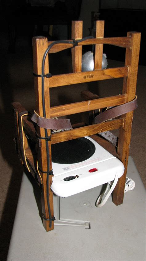 sparky electric chair beverage warmer collectors weekly
