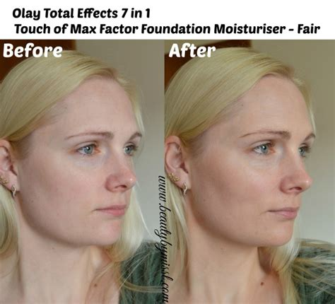 Olay Total Effects Touch Of Foundation olay total effects 7 in 1 touch of max factor foundation