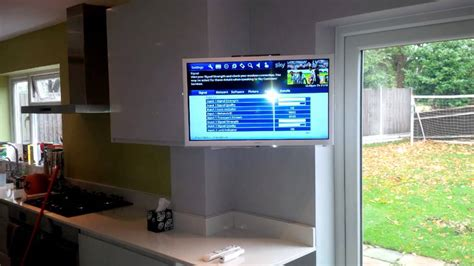 kitchen tv cabinet mount kitchen tv wall mount