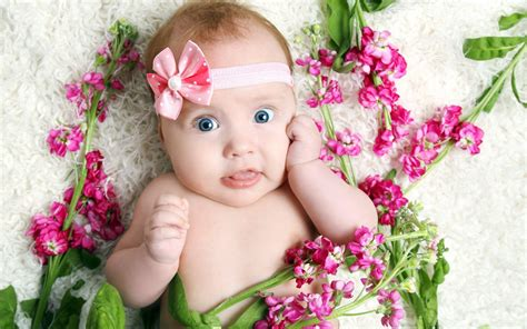 beautiful baby photos with flowers beautiful babies wallpapers 2016 wallpaper cave