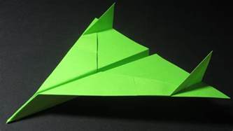 How Do You Make A Paper Aeroplane - origami avion how to make a paper airplane cool paper
