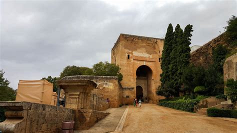 Exploring The Alhambra Palace And Fortress In Granada, Spain