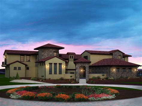 santa fe house plans berenzy luxury santa fe home plan 101s 0014 house plans and more