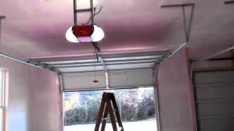 sears craftsman garage door opener belt driven review