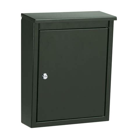 architectural mailboxes soho wall mount locking mailbox