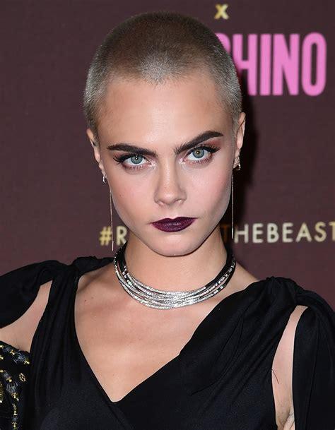 coupe de cheveux femme quarantaine cheveux ras 233 s 10 femmes c 233 l 232 bres qui ont os 233