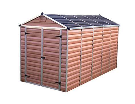 Durable Sheds by Palram Skylight Shed 6x12ft Durable Storage