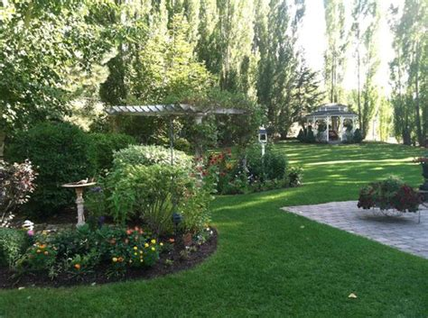 Garden City Property Management Missoula by The Fabulous Backyard With Gardens Picture