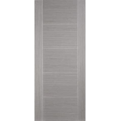 Contemporary Interior Doors Uk Fully Finished Contemporary Grey Door Emerald Doors