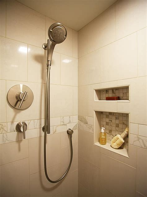 dusche in dusche make the most of your shower space hgtv