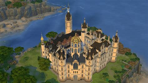 How Do I Find Floor Plans For My House by Schwerin Castle Sims 4 Studio