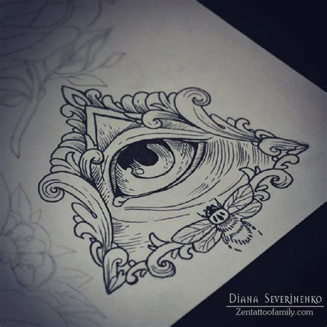 third eye tattoo designs 21 best eye of providence images on