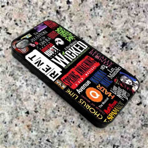 Casing Iphone 7 Plus Broadway Musical Collage Custom best broadway collage products on wanelo