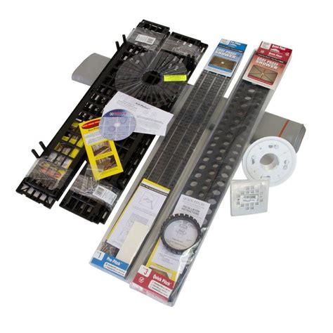standard shower kit with liner square drain ssk 501d