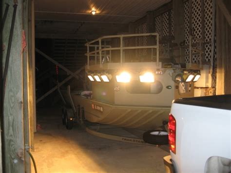 flounder gigging lights for boat flounder gigging boat questions the hull