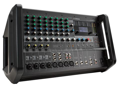 Power Mixer Yamaha 5016 yamaha launches emx5 and emx7 portable powered mixers