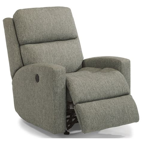 flex steel recliners flexsteel catalina contemporary casual power rocking
