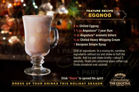 white house eggnog recipe mix up your holiday drinks with angostura bitters cocktail recipes angostura