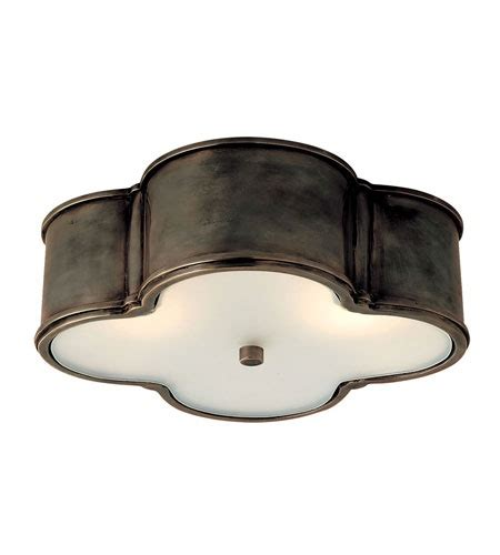 visual comfort basil flush mount visual comfort alexa hton basil 17 flush mount in gun