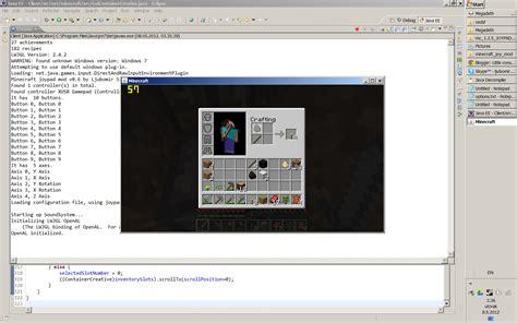 console hacker console hacker s corner minecraft in split