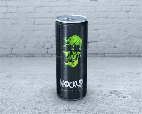 energy drink 3 letters energy drink can mockup by goner13 graphicriver