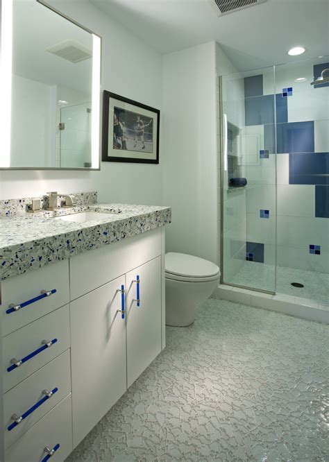 bathroom countertops cost recycled glass countertops cost bathroom contemporary with