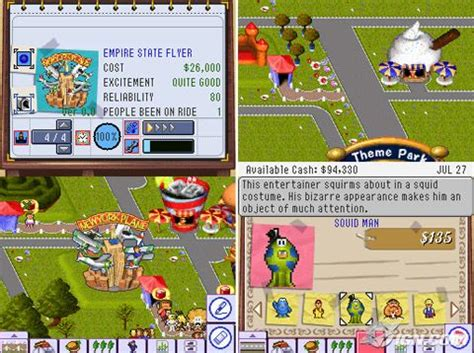 theme park cheats theme park world pc cheats