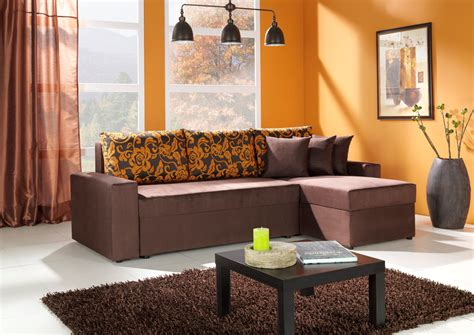 decorating a living room in orange wall room decorating