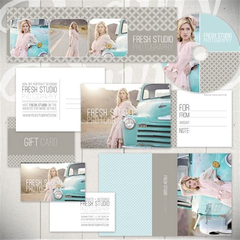 Free Photography Marketing Templates by Photography Marketing Templates Fresh Studio Marketing Set