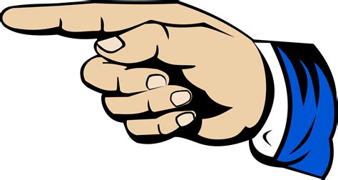 pointing finger clipart clipart pointing finger 5