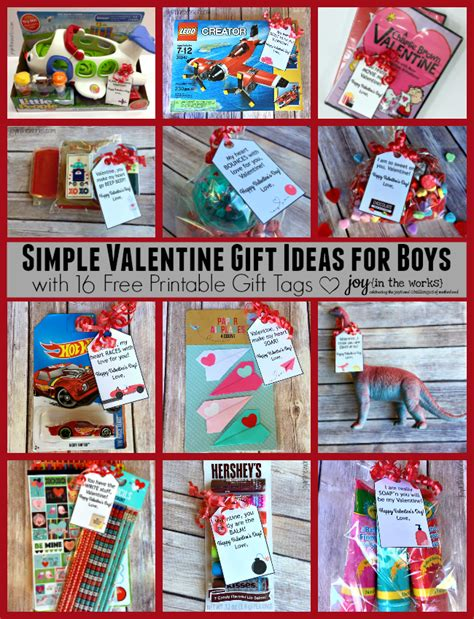 what do you give a boy for valentines day simple gift ideas for boys in the works
