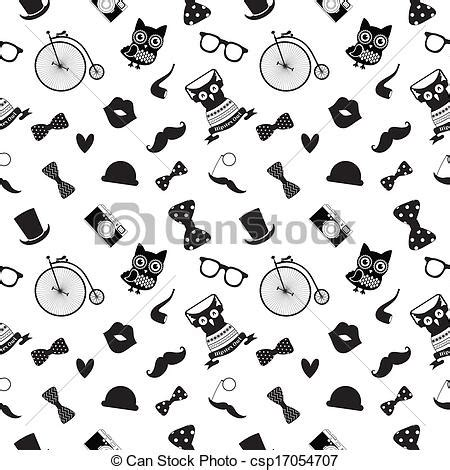 black and white hipster pattern backgrounds hipster black and white seamless pattern royalty free