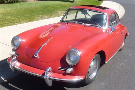 porsche 356 sunroof 1965 porsche 356 sunroof coupe